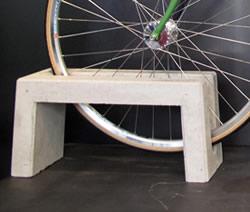 柴田コンクリート 典型 片面用 自転車止め 人気激安 新作からSALEアイテム等お得な商品 満載