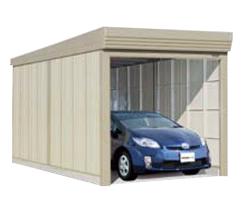 豪奢な タクボ ガレージ カールフォーマ 巻き上げシャッター扉 標準型 CS-2760 幅2774×奥行6240×高さ2450mm:環境生活-エクステリア・ガーデンファニチャー