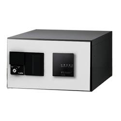 【捺印付】ナスタ デリバリーボックス(メカ式) D-ALL プッシュボタン錠 前入前出 ホワイト KS-TLJ360-F200N-W ※受注生産品