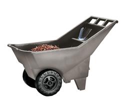 ラバーメイド(NewellRubbermaid) ゴミステーション 大型ゴミ箱 送料要見積 お客様組立 ユーティリティ ローンカート 3707 ※受注生産品