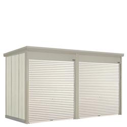 タクボ物置 Mr.シャッターマン ダンディ WS-2219-2 一般型 標準屋根 2連棟[収納庫/収納/屋外収納庫/屋外/倉庫/中型/大型]