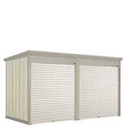 タクボ物置 Mr.シャッターマン ダンディ WS-S2222-2 多雪型 標準屋根 2連棟[収納庫/収納/屋外収納庫/屋外/倉庫/中型/大型]