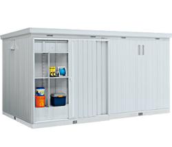イナバ物置 ネクスタ大型 NXN-118H 一般型 [収納庫/収納/屋外収納庫/屋外/倉庫/NEXTA/大型/中型/激安/価格/小屋/ガーデニング/庭/いなば/いなば物置/稲葉/物置き]