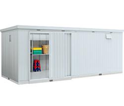 イナバ物置 ネクスタ大型 NXN-162H 一般型 [収納庫/収納/屋外収納庫/屋外/倉庫/NEXTA/大型/中型/激安/価格/小屋/ガーデニング/庭/いなば/いなば物置/稲葉/物置き]