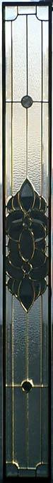 遮音・断熱・防犯性のステンドグラス ピュアグラス Jサイズ SH-J02 [ステンドグラス/ガラス/インテリア/窓/小窓/室内/屋内]