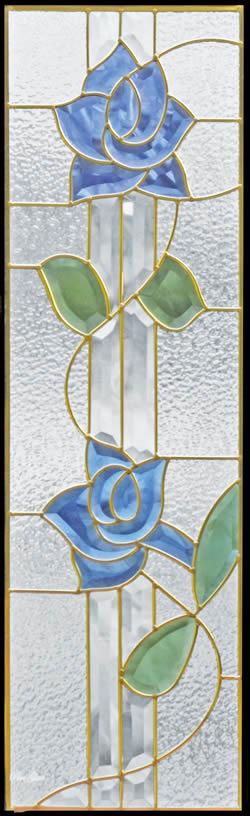 遮音・断熱・防犯性のステンドグラス ピュアグラス Cサイズ SH-C13 [ステンドグラス/ガラス/インテリア/窓/小窓/室内/屋内]