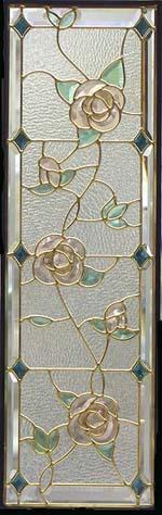 遮音・断熱・防犯性のステンドグラス ピュアグラス Cサイズ SH-C14 [ステンドグラス/ガラス/インテリア/窓/小窓/室内/屋内]