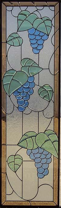 遮音・断熱・防犯性のステンドグラス ピュアグラス Bサイズ SH-B12 [ステンドグラス/ガラス/インテリア/窓/小窓/室内/屋内]