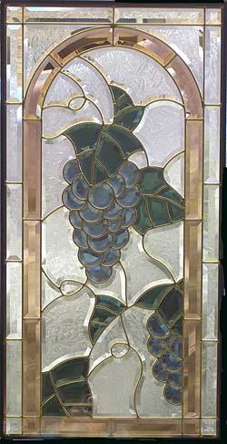 遮音・断熱・防犯性のステンドグラス ピュアグラス Aサイズズ SH-A19 [ステンドグラス/ガラス/インテリア/窓/小窓/室内/屋内]