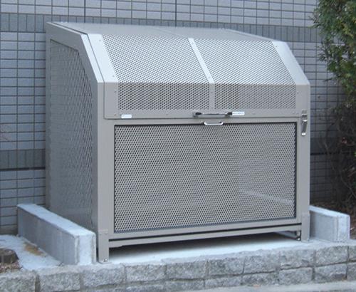 ゴミステーション 大型ゴミ箱 ゴミ箱くん AL-12 W1200×D900×H1100 完成品 【送料無料】