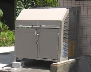 ゴミステーション 大型ゴミ箱 ゴミ箱くん BH-12 W1200×D900×H1100 完成品 【送料無料】