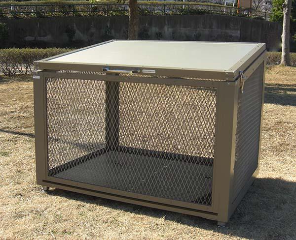 ゴミステーション 大型ゴミ箱 ゴミ箱くん FC-12 W1200×D900×H900 完成品 【送料無料】