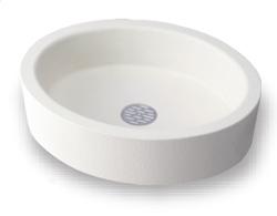 ニッコーエクステリア ガーデンパン(水受け) ラウンドパン OPB-PI-WH ホワイト(WH)