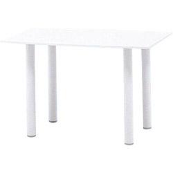 テラモト 樹脂製 ガーデンテーブル NWT-10×6 MZ5951400 ※お客様組立品 個人宅配送不可
