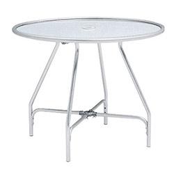 テラモト 金属製 ガーデンアルミテーブル(組立式) MZ6100200 ※お客様組立品