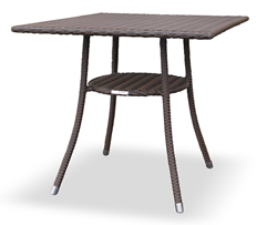 RAUCORD(ラウコード) AMALFI アマルフィ ダイニングテーブル 700mm 角型 [ガーデンテーブル/ケイラウコード/レーハウ屋外家具/ガーデンファニチャー/ドイツ]