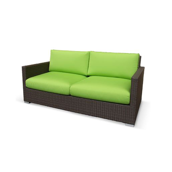 RAUCORD(ラウコード) ELBA エルバ ソファ(2シート) クッション付 [ガーデンチェア/ケイラウコード/屋外家具/ガーデンファニチャー/ドイツ]