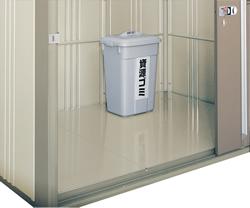 ゴミステーション 大型ゴミ箱 タクボ物置 クリーンキーパー別売オプション 床セットCK-2215用 CKU-2215