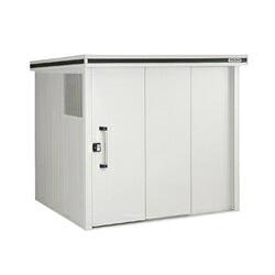 ゴミステーション 大型ゴミ箱 ヨドコウ ヨド物置 エルモ ダストピット LMD-2222DP 一般型 [自治会/町内会/設置/屋外/カラス/対策/猫/大容量/ごみ/ゴミ箱/ゴミストッカー]