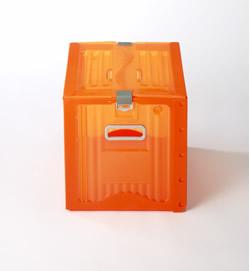 株式会社ダイカ 【地球にやさしい次世代ボックス】リスボックス5個セット カーボンオフセット対応 25B オレンジ COR/OR