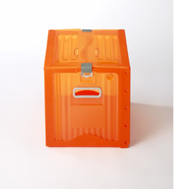 株式会社ダイカ 【地球にやさしい次世代ボックス】リスボックス5個セット カーボンオフセット対応 53B オレンジ COR/OR