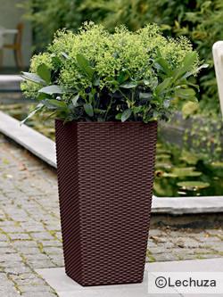 水やりは最長12週間不要 ドイツ製プランター レチューザ コテージ30 (灌水セット付き) LE-6030
