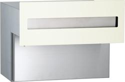エリア限定送料無料 ユニソン 壁埋め込みポスト OSTO オスト ヨコ15 オフホワイト OSTO-323012110