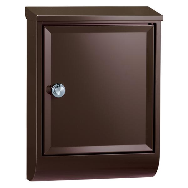 ブラウン Tela 壁付けポスト ユニソン 323602210 テラ 右開き