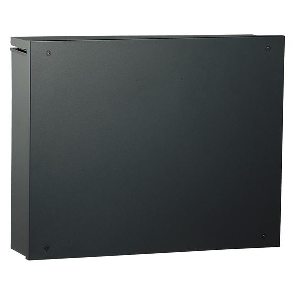 ユニソン 壁付けポスト piatto ピアット ブラック シリンダー錠 324201110