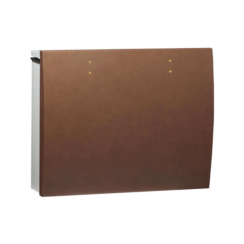 ユニソン 壁付けポスト bolsa ボルサ シリンダー錠 SLレザーキャメル 324302310