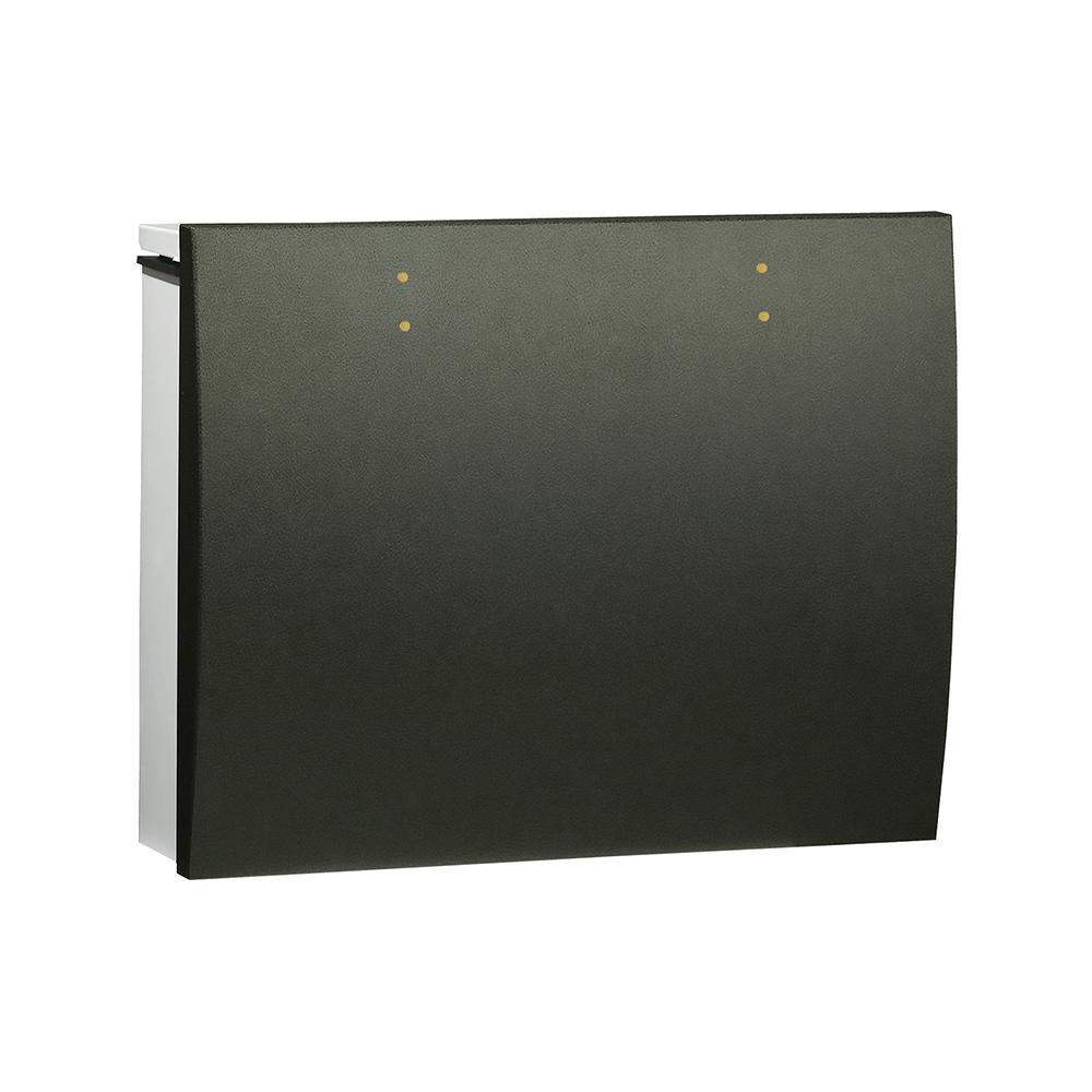 ユニソン 壁付けポスト bolsa ボルサ シリンダー錠 SLレザーブラック 324302410