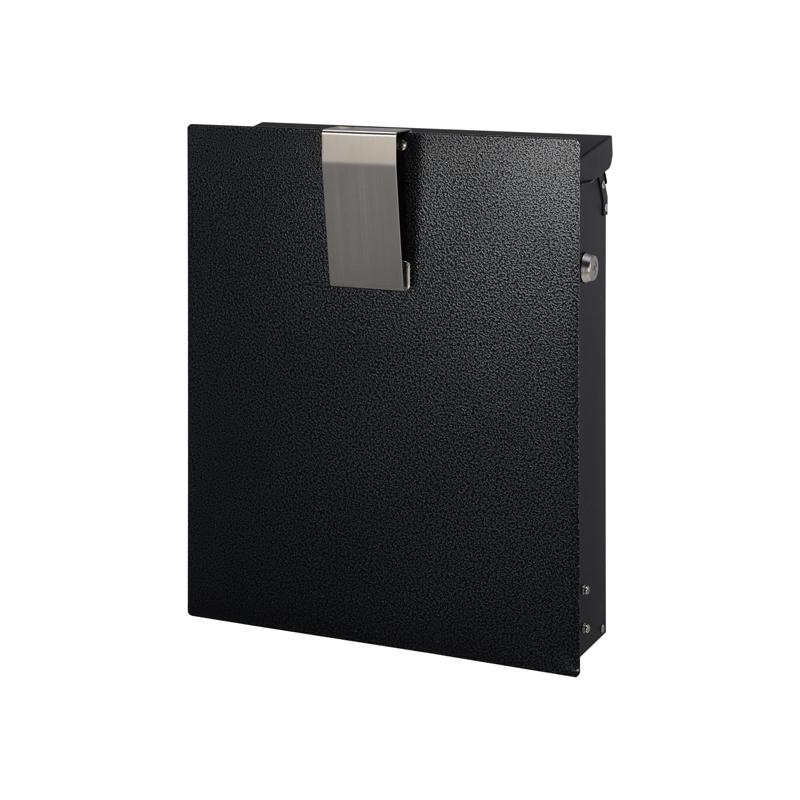 オンリーワン 郵便ポスト ノイエファイン ハンマートーン メタリックブラック  GM1-NF602 送料無料