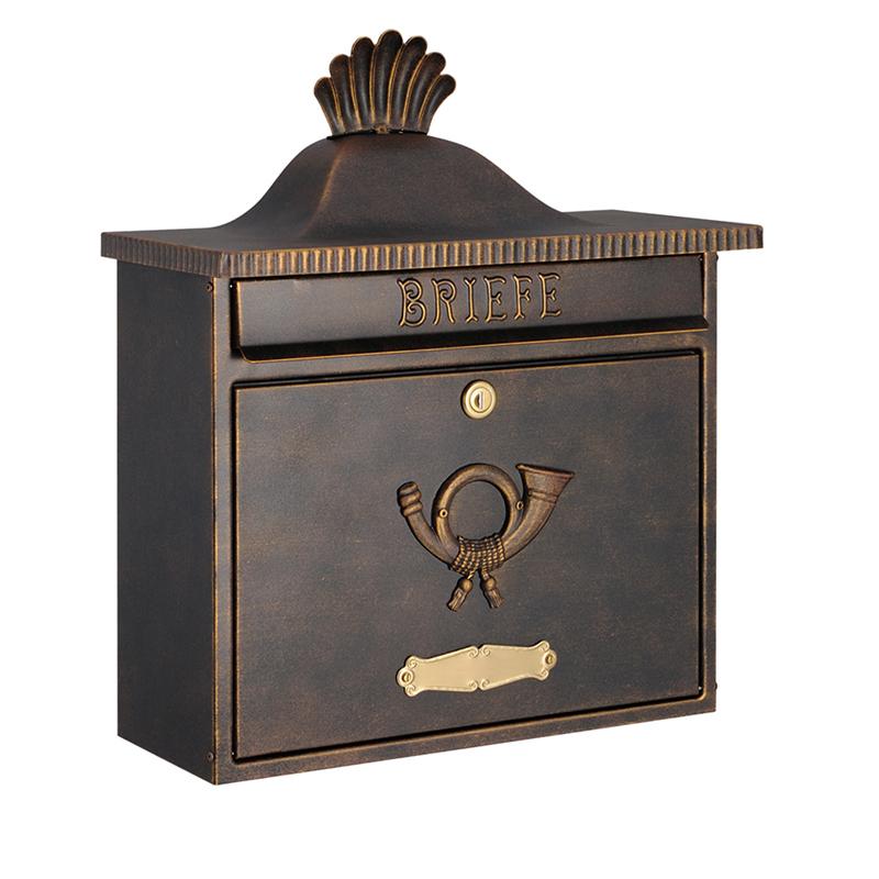 オンリーワン 郵便ポスト  クラシカルポスト XA シリンダー錠 ラスティブラウン MA1-64056002 送料無料