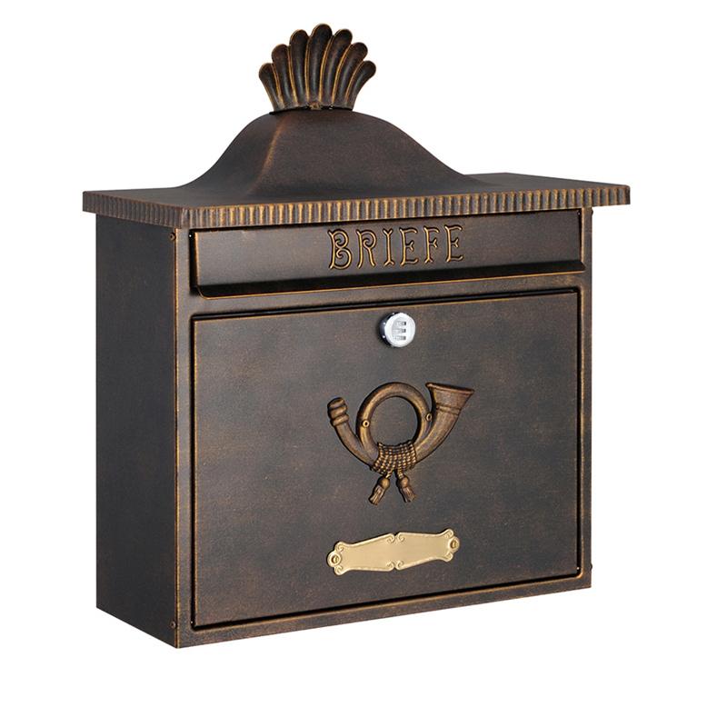 オンリーワン 郵便ポスト  クラシカルポスト XA ダイヤル錠 ラスティブラウン MA1-64056002D 送料無料