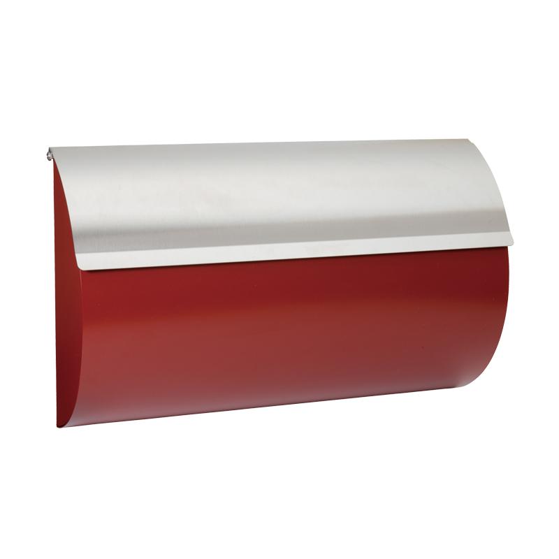 オンリーワン 郵便ポスト   モダンポスト L ワインレッド MA1-64255030 送料無料