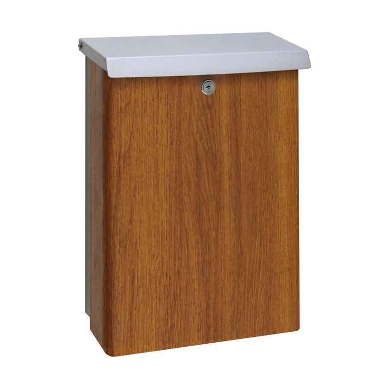 オンリーワン 郵便ポスト ボーノ グレイン シリンダー錠 チーク NA1-5B01CTC 送料無料