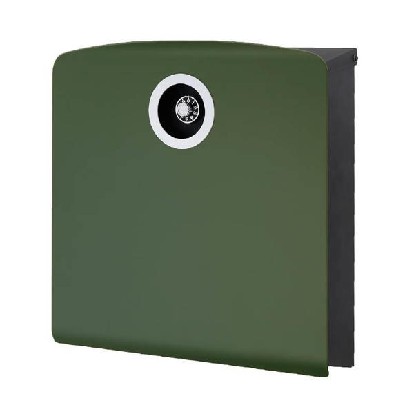 オンリーワン 壁付け郵便ポスト イル ヴァリオ コラット ダルグリーン NA1-IV20DG