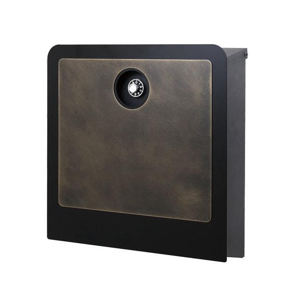 オンリーワン 壁付け郵便ポスト イル ヴァリオ ラミエラ 真鍮エイジング NA1-IV28BS