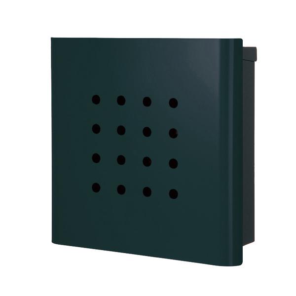 オンリーワン 壁付け郵便ポスト ヴァリオ ネオ パンチ 壁掛けタイプ(鍵無し) フォレストグリーン NA1-ON02FG