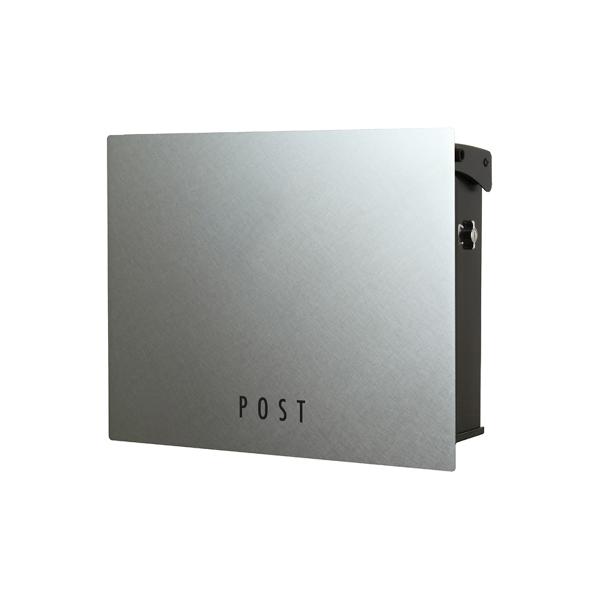 オンリーワン 壁付け郵便ポスト パーサス ネオ ステンレス Type11 壁掛けタイプ(ダイヤル錠付) NA1-PA11PH