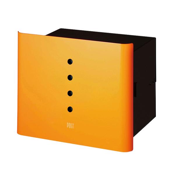オンリーワン 埋め込みポスト ヴァリオ ネオ アルファ 埋め込みタイプ オレンジ NA1-PL01OR