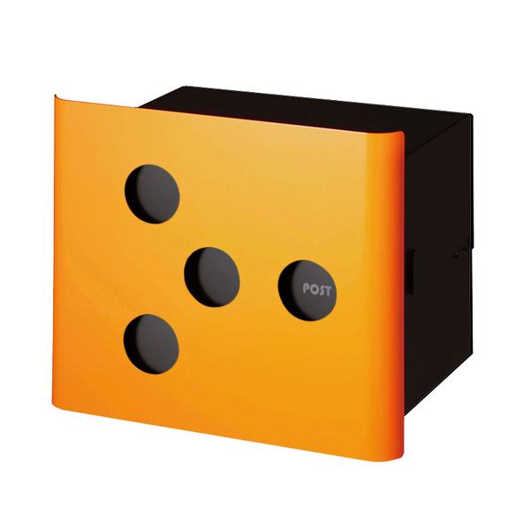 オンリーワン 埋め込みポスト ヴァリオ ネオ イレギュラー 埋め込みタイプ オレンジ NA1-PL03OR