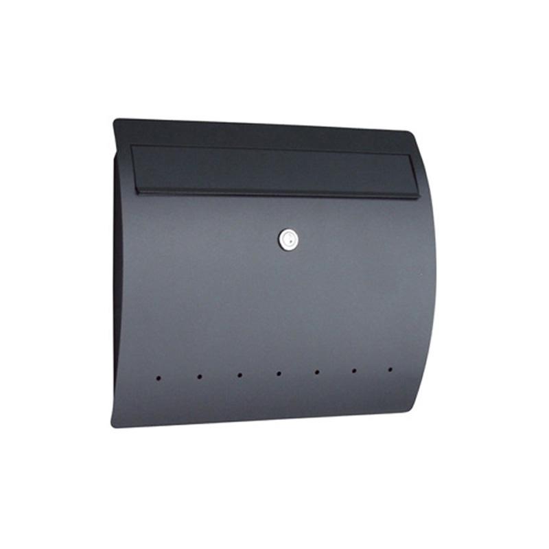オンリーワン 郵便ポスト  ゼラフィーニ メールボックス ライン ブラック SG1-460BK 送料無料