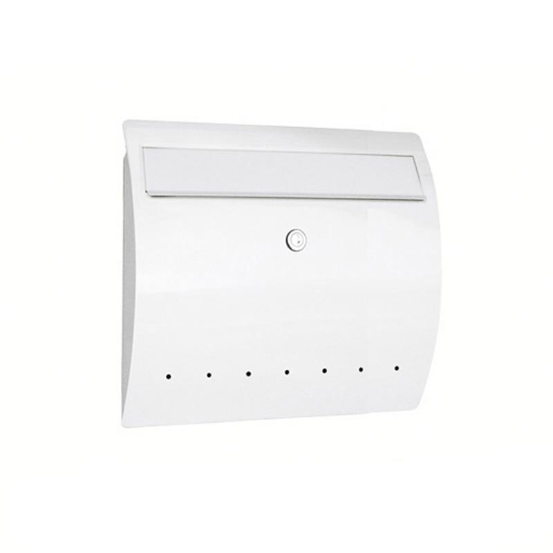 オンリーワン 郵便ポスト  ゼラフィーニ メールボックス ライン ホワイト SG1-460WH 送料無料