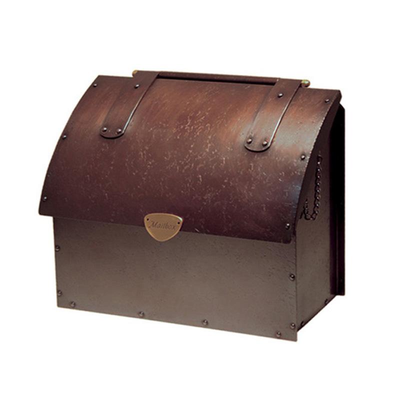 オンリーワン 郵便ポスト  銅製メールボックス 2型 鍵無し SR1-DP-2 送料無料