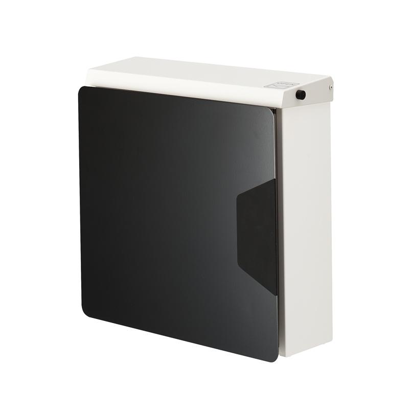 オンリーワン 郵便ポスト  マルカート アヴィオン ホワイト パネル:ブラック TC1-AV3BK 送料無料