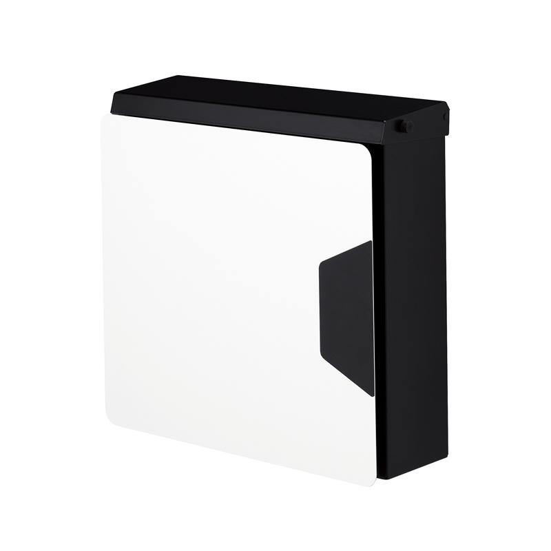 オンリーワン 郵便ポスト マルカート アヴィオン ブラック パネル:ホワイト TC1-AV4WH 送料無料