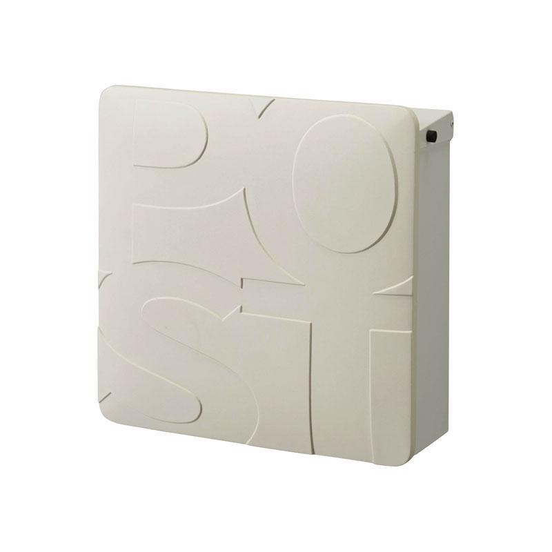 オンリーワン 郵便ポスト   マルカート ボールド ホワイト パネル:ホワイト TC1-BD3WH 送料無料