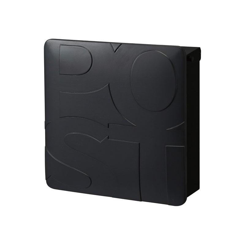 オンリーワン 郵便ポスト   マルカート ボールド ブラック パネル:ブラック TC1-BD4BK 送料無料