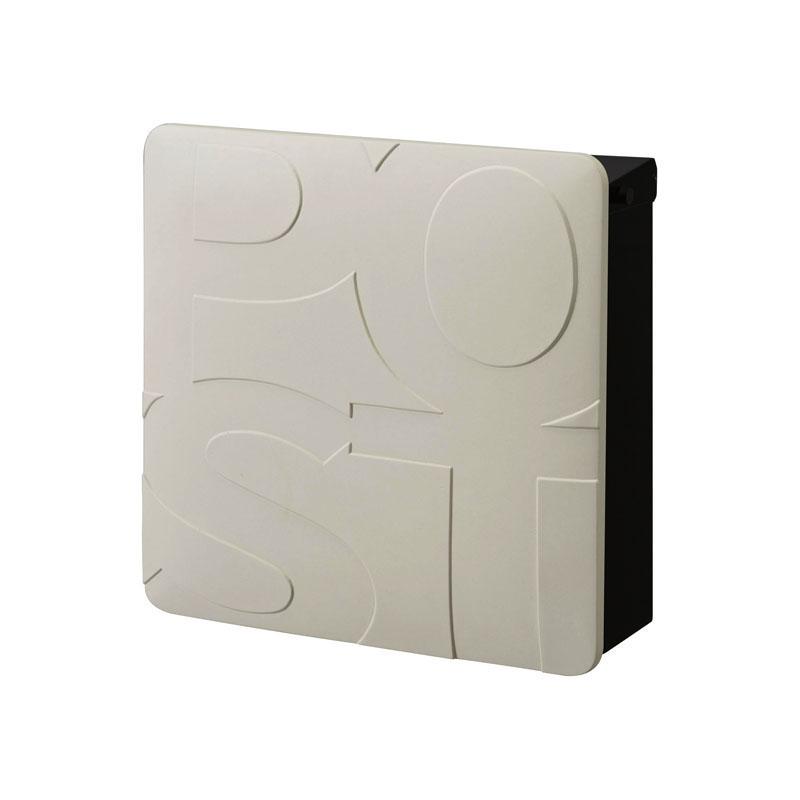 オンリーワン 郵便ポスト   マルカート ボールド ブラック パネル:ホワイト TC1-BD4WH 送料無料